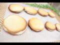 白い恋人風ラングドシャクッキーの作り方!